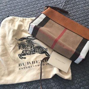 Authentic Burberry Mini Clutch